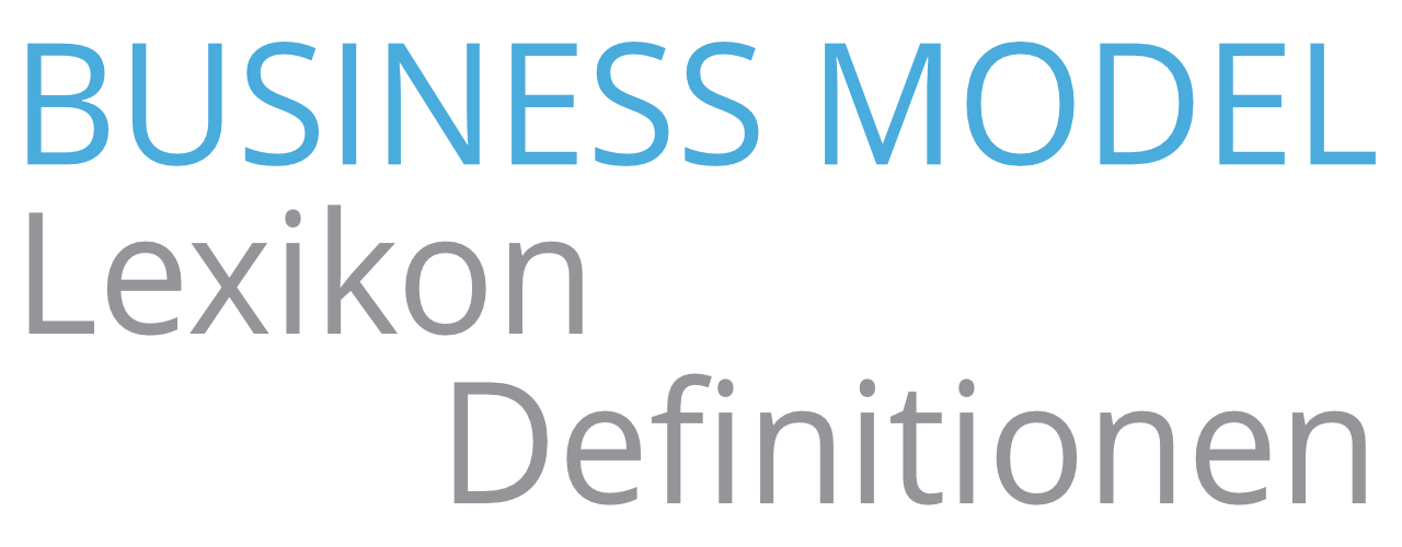 Definition Business Modelling