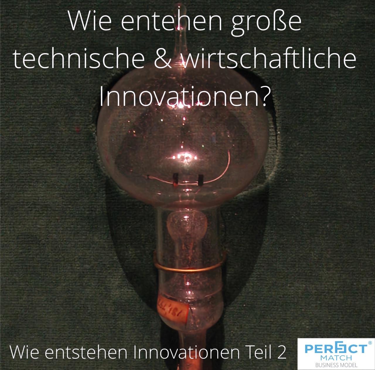 Wie entstehen Innovationen im großen Stil