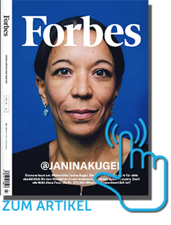 FORBES Magazin - Christoph Ulrich Mayer